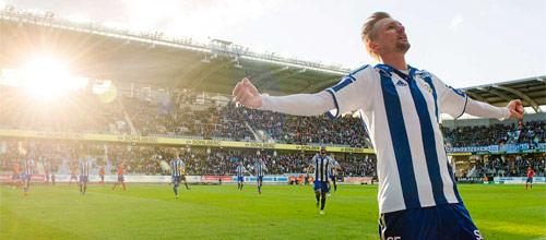 Швеция, Высшая лига: Гётеборг - Сундсвалль