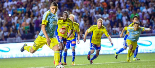 Лига Европы, квалификация: Астана - БАТЭ