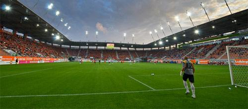 Лига Европы, квалификация: Сённерьюск - Заглембе