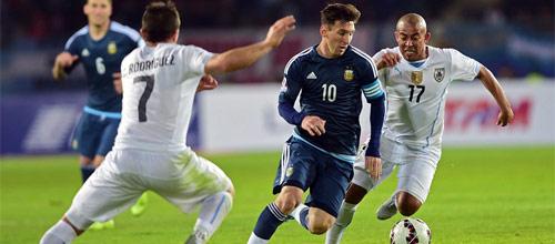 Отборочные матчи к ЧМ-2018: Аргентина - Уругвай