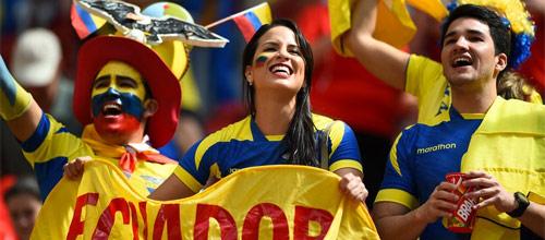 Отборочные матчи к ЧМ 2018: Эквадор - Бразилия