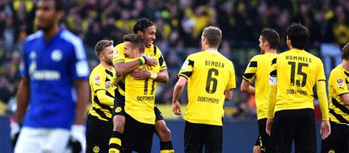 Чемпионат Германии: Боруссия Дортмунд - Шальке 04