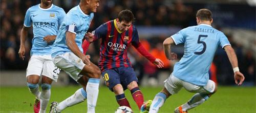 ЛЧ: Барселона - Манчестер Сити