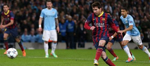 Лига Чемпионов: Манчестер Сити - Барселона