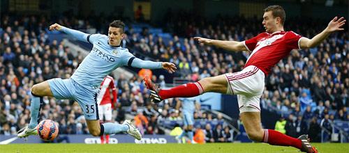Чемпионат Англии: Манчестер Сити - Мидлсбро