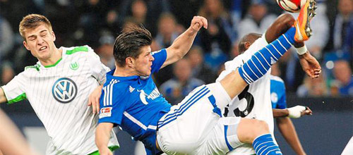 Чемпионат Германии: Вольфсбург - Шальке-04