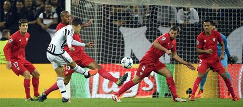 Лига Чемпионов, групповой этап: Севилья - Ювентус