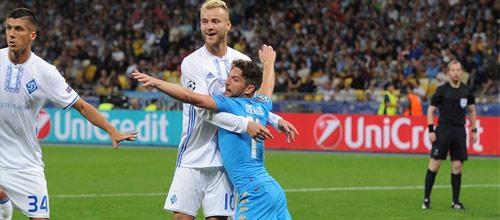 Лига Чемпионов: Наполи - Динамо Киев