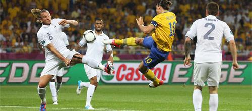 Отборочный матч ЧМ-2018: Франция - Швеция