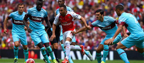 Чемпионат Англии: Вест Хэм Юнайтед - Арсенал