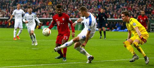 Чемпионат Германии: Дармштадт - Бавария