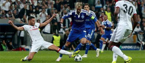 Лига Чемпионов: Динамо Киев - Бешикташ