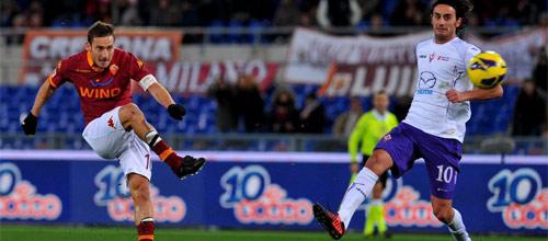 Чемпионат Италии: Рома - Фиорентина