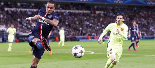 Лига Чемпионов: ПСЖ - Барселона