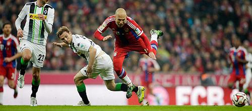 Чемпионат Германии: Боруссия Мёнхенгладбах - Бавария