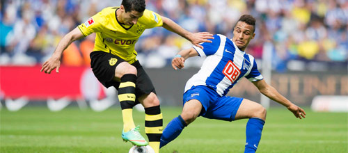 Чемпионат Германии: Герта - Боруссия Дортмунд