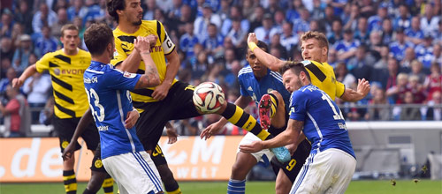 Чемпионат Германии: Шальке 04 - Боруссия Дортмунд