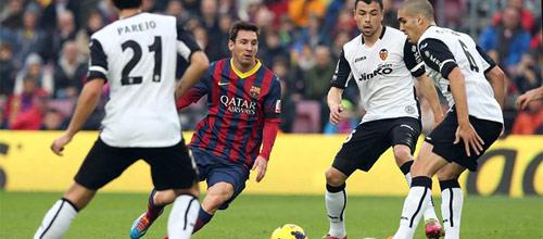 Чемпионат Испании: Барселона - Валенсия