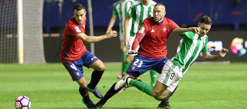 Чемпионат Испании: Бетис - Осасуна