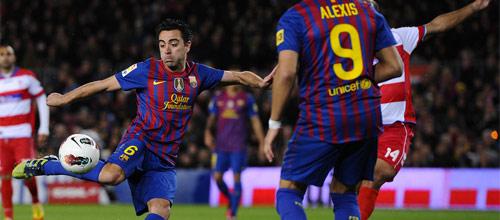 Чемпионат Испании: Гранада - Барселона