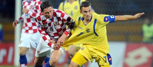Чемпионат Мира 2018, квалификация: Хорватия - Украина