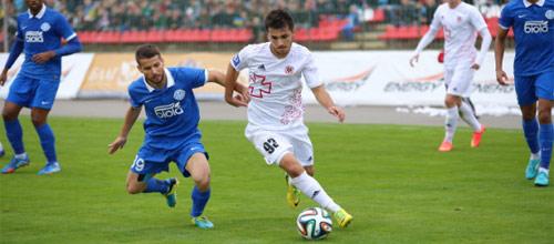Чемпионат Украины: Волынь - Днепр