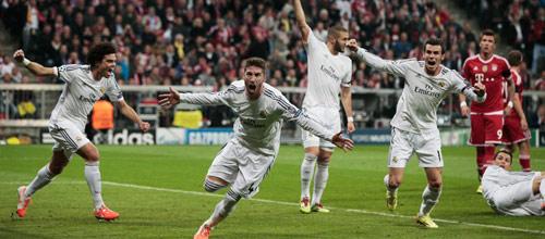 Лига Чемпионов: Бавария - Реал Мадрид