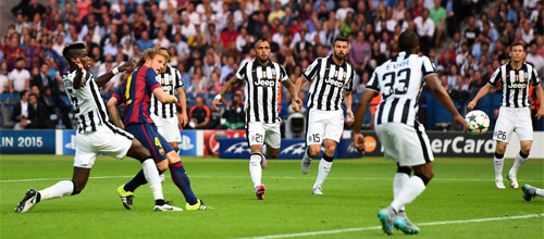 Лига Чемпионов: Ювентус - Барселона