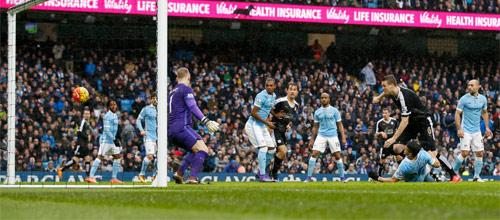 Чемпионат Англии: Манчестер Сити - Лестер