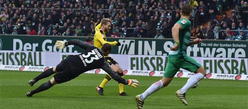 Чемпионат Германии: Боруссия Дортмунд - Вердер