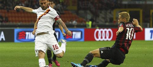 Италия, Серия А: Милан - Рома