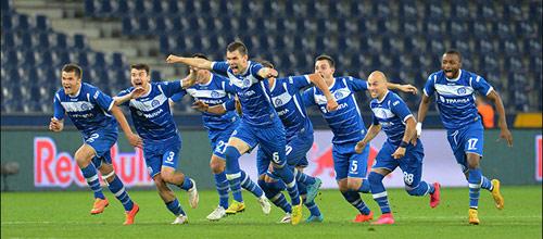 Лига Европы, квалификация: Динамо Минск - Рунавик