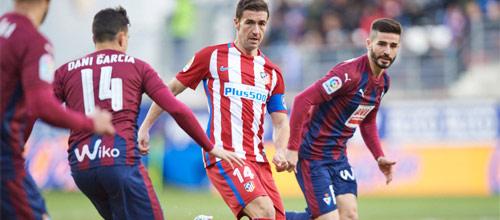 Чемпионат Испании: Эйбар - Атлетико Мадрид